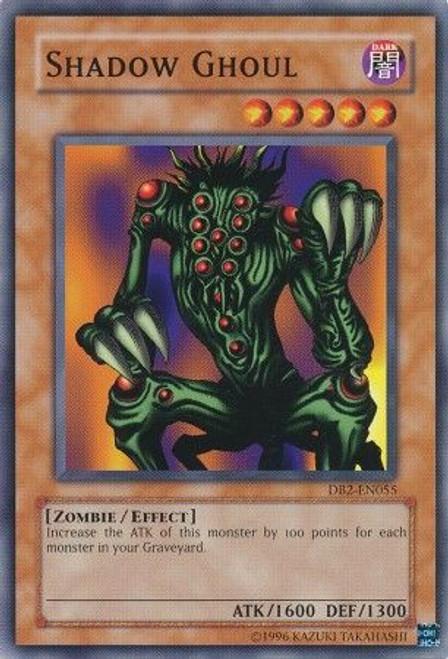 YuGiOh Dark Beginning 2 Common Shadow Ghoul DB2-EN055