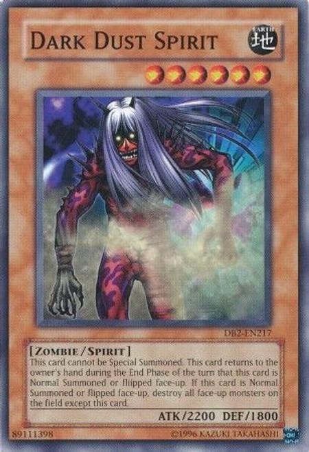 YuGiOh Dark Beginning 2 Common Dark Dust Spirit DB2-EN217
