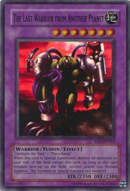 YuGiOh Dark Beginning 2 Super Rare Last Warrior From Another Planet DB2-EN012