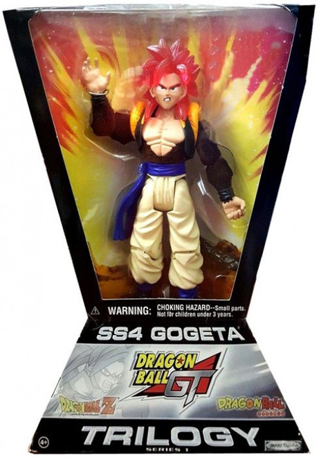 Dragon Ball Z Trilogy Series 1 SS4 Gogeta Action Figure