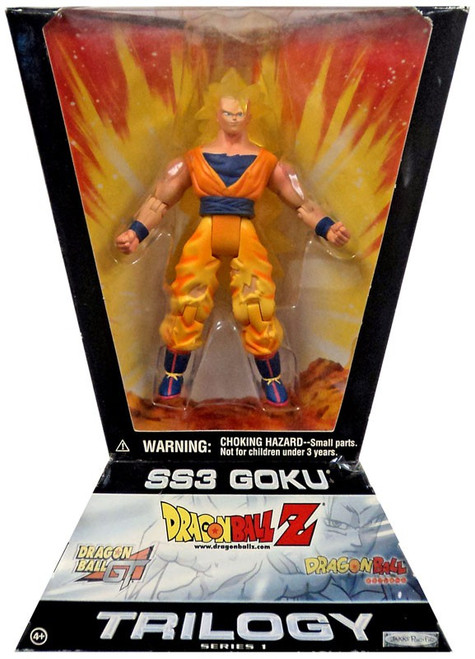 Dragon Ball Z Trilogy Series 1 SS3 Goku Action Figure