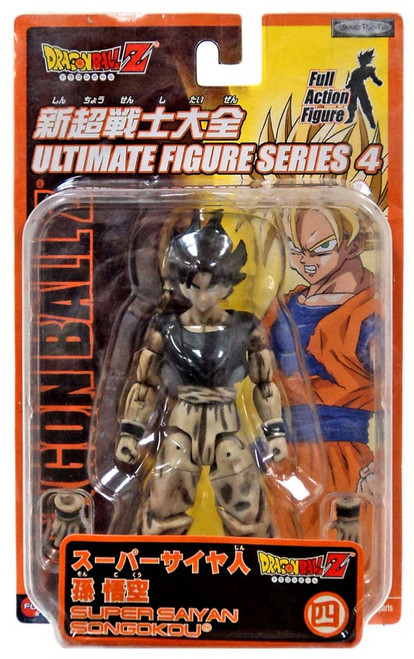 Dragon Ball Z Ultimate Figure Series 4 SS SonGokou Action Figure