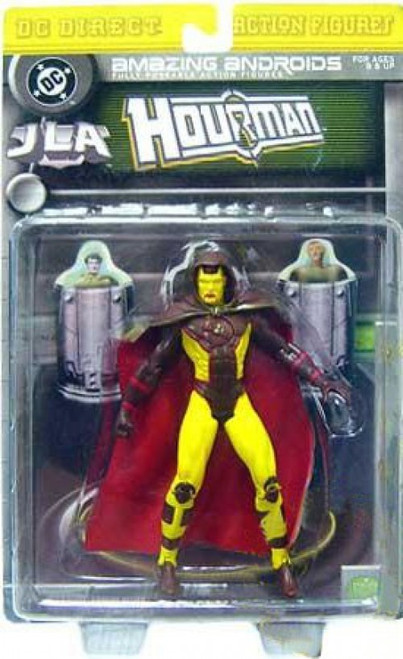 DC JLA Amazing Andriods Hourman Action Figure [Damaged Package]