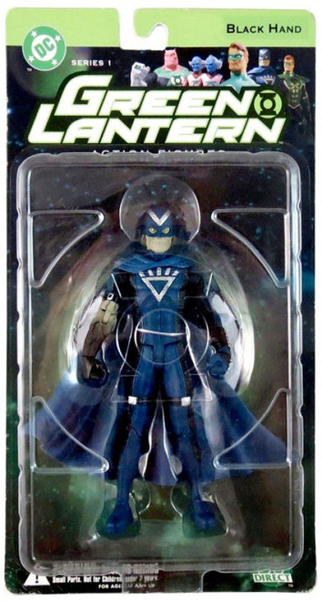 DC Green Lantern Series 1 Black Hand Action Figure