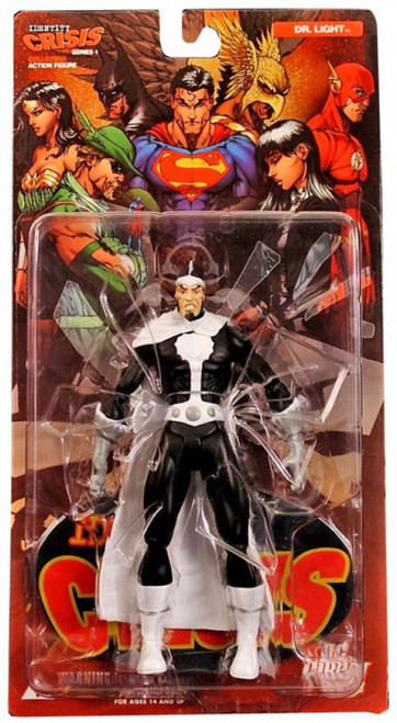 DC Identity Crisis Series 1 Dr. Light Action Figure