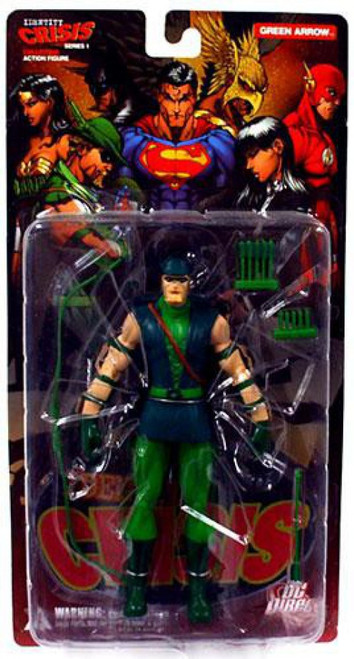 DC Identity Crisis Series 1 Green Arrow Action Figure