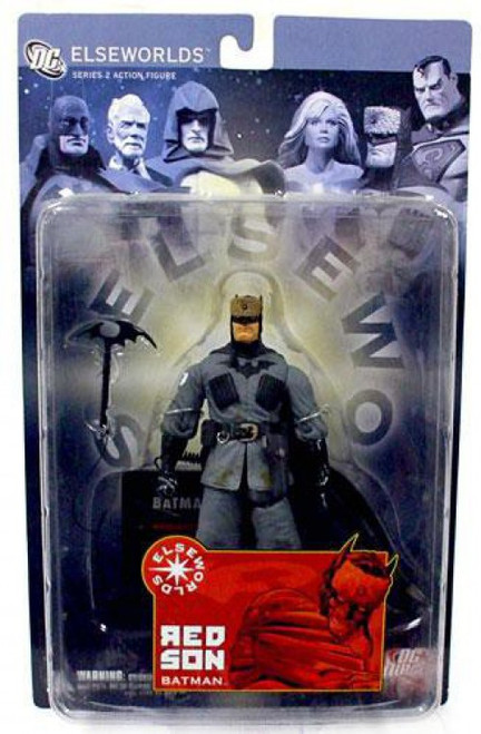 Elseworlds Series 2 Red Son Batman Action Figure