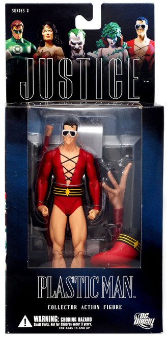DC Alex Ross Justice League Series 3 Plastic Man Action Figure