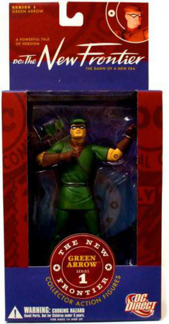 DC The New Frontier Series 1 Green Arrow Action Figure