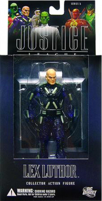 DC Superman Alex Ross Justice League Series 5 Lex Luthor Action Figure