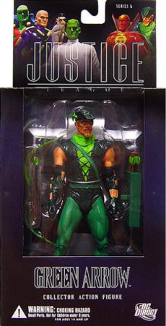 DC Alex Ross Justice League Series 5 Green Arrow Action Figure