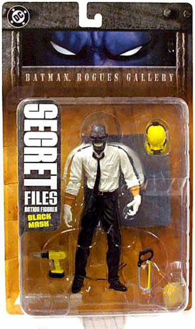 Secret Files Series 1 Batman Rogues Gallery Black Mask Action Figure