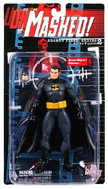 Secret Files Series 2 Unmasked Bruce Wayne / Batman Action Figure