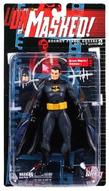 Secret Files Series 2 Unmasked Bruce Wayne / Batman Action Figure