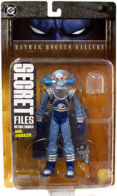 Secret Files Series 1 Batman Rogues Gallery Mr. Freeze Action Figure