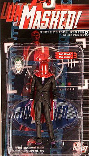 Batman Secret Files Series 2 Unmasked Red Hood / The Joker Action Figure