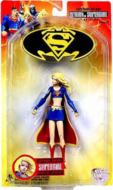 DC Superman Batman Series 2 Return of Supergirl Supergirl Action Figure