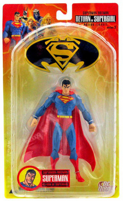 DC Superman Batman Series 2 Return of Supergirl Superman Action Figure