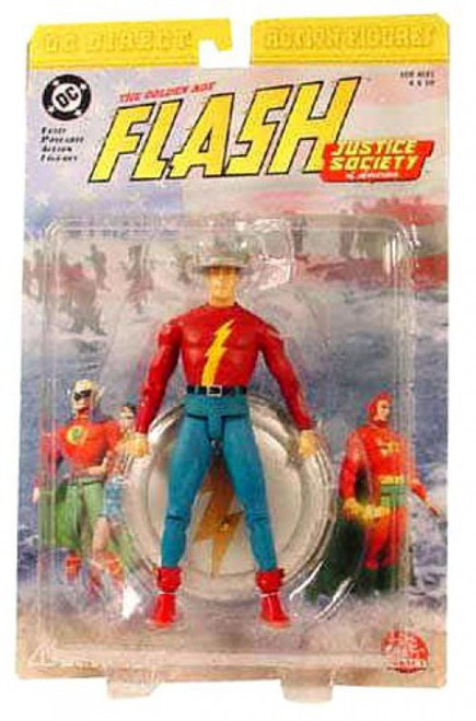 DC JSA The Golden Age The Flash Action Figure