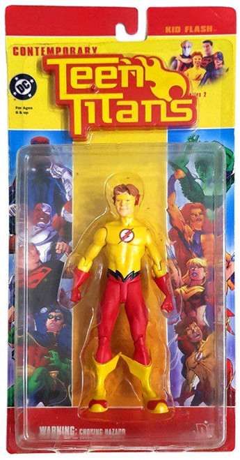 DC Contemporary Teen Titans Series 2 Kid Flash Action Figure