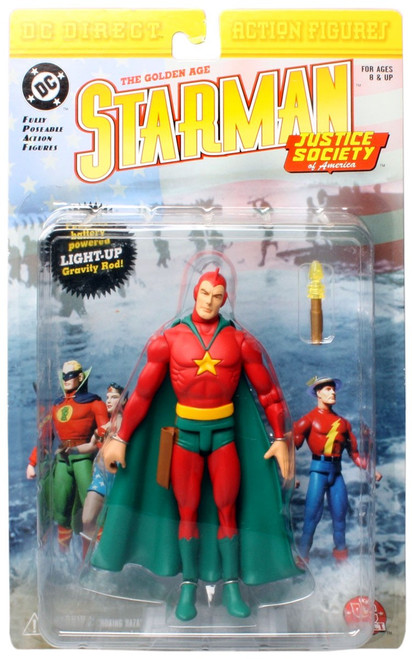 DC JSA The Golden Age Starman Action Figure