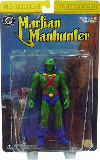 DC Martian Manhunter Action Figure [Damaged Package]