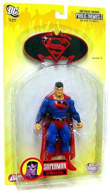 DC Superman Batman Series 3 Public Enemies 2 Future Superman Action Figure