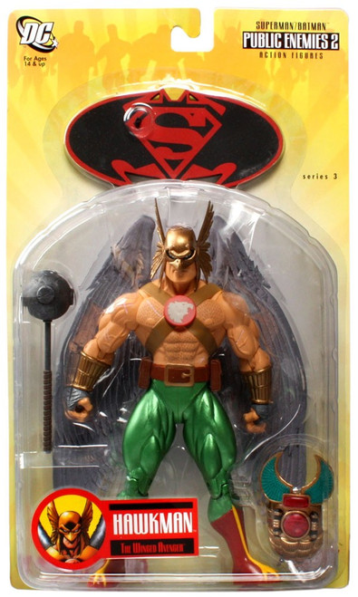 DC Superman Batman Series 3 Public Enemies 2 Hawkman Action Figure