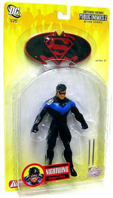 DC Superman Batman Series 3 Public Enemies 2 Nightwing Action Figure