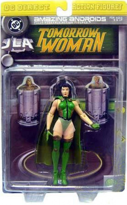 DC JLA Amazing Andriods Tomorrow Woman Action Figure