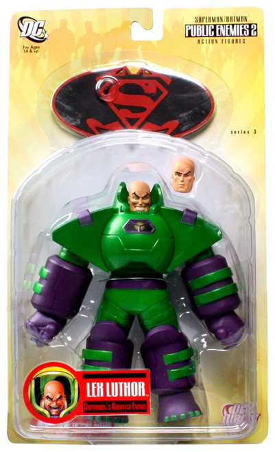 DC Superman Batman Series 3 Public Enemies 2 Armored Lex Luthor Action Figure