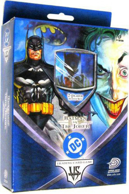DC VS System Trading Card Game Batman Vs. Joker Batman vs. The Joker Starter Deck [Sealed]