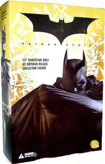 Batman Begins Christian Bale as Batman 13-Inch Collectible Figure