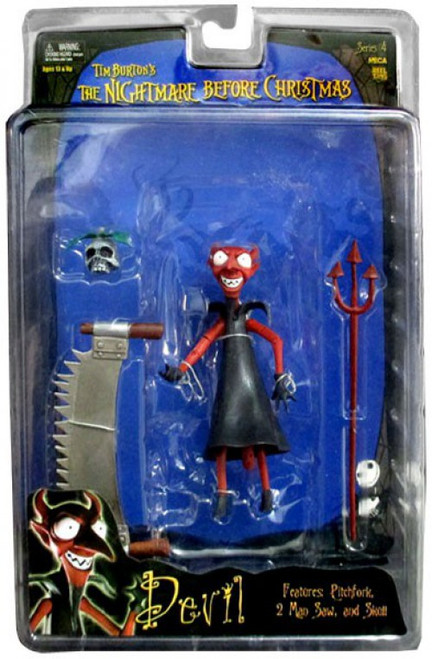 NECA Nightmare Before Christmas Series 4 Devil Action Figure