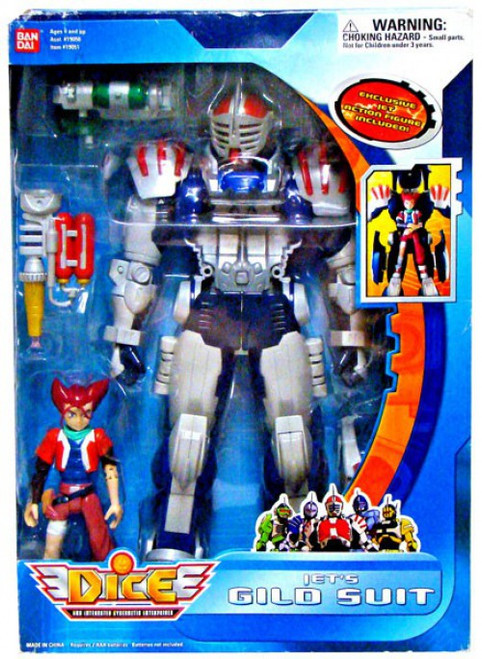 D.I.C.E. Jet's Gild Suit Action Figure