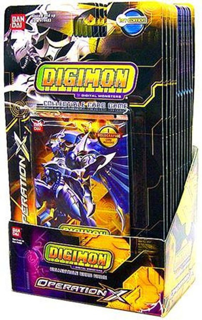 Digimon Trading Card Game Operation X Booster Box [12 Packs]