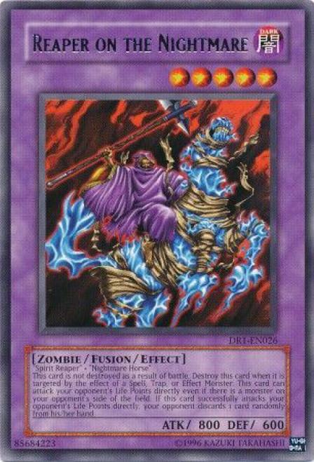 YuGiOh Dark Revelation 1 Rare Reaper on the Nightmare DR1-EN026