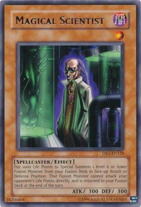 YuGiOh Dark Revelation 1 Rare Magical Scientist DR1-EN128