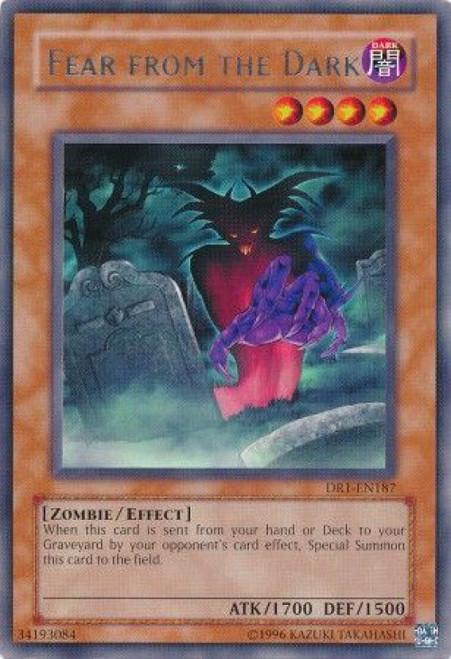 YuGiOh Dark Revelation 1 Rare Fear From the Dark DR1-EN187