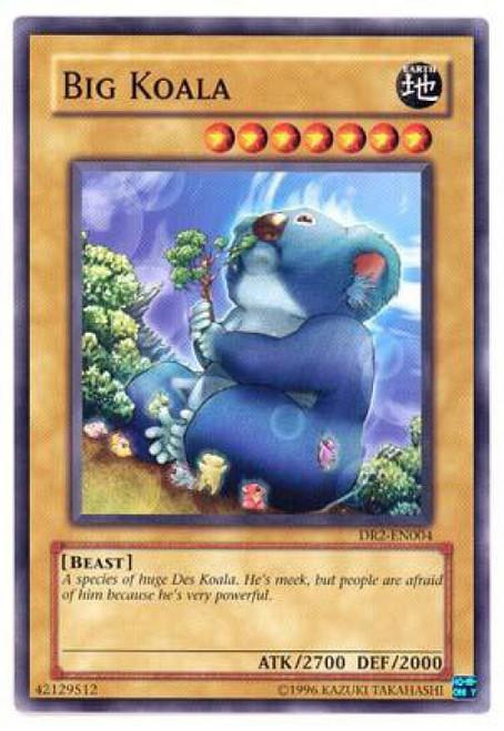 YuGiOh Dark Revelation 2 Common Big Koala DR2-EN004