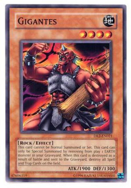 YuGiOh Dark Revelation 2 Common Gigantes DR2-EN021