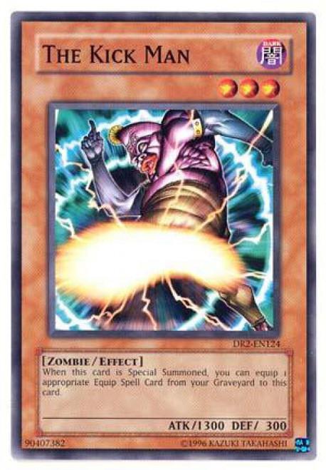 YuGiOh Dark Revelation 2 Common The Kick Man DR2-EN124