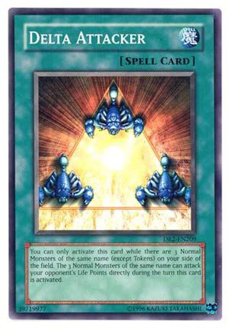 YuGiOh Dark Revelation 2 Common Delta Attacker DR2-EN209