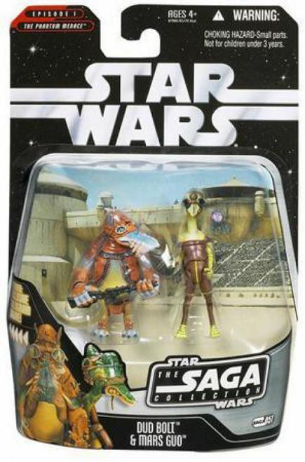Star Wars Phantom Menace 2006 Saga Collection Dud Bolt & Mars Guo Action Figure 2-Pack #51