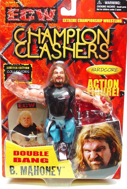 ECW Wrestling Champion Clashers Double Bang Balls Mahoney Action Figure