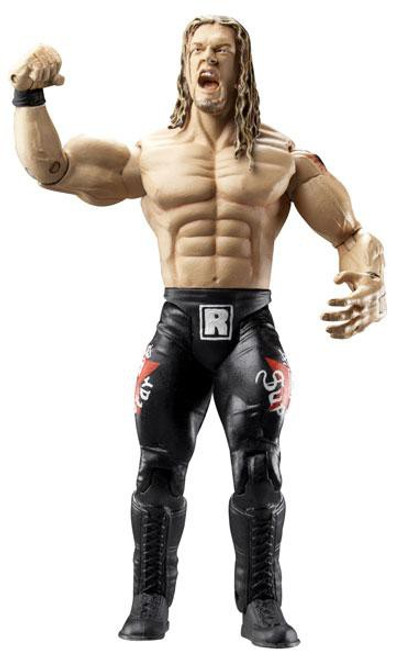 WWE Wrestling Ruthless Aggression Series 22.5 Ring Rage Edge Action Figure [Damaged Package, Mint Contents]