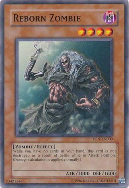 YuGiOh Elemental Energy Common Reborn Zombie EEN-EN009