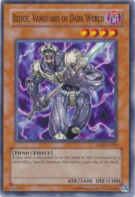 YuGiOh Elemental Energy Common Beiige, Vanguard of Dark World EEN-EN020