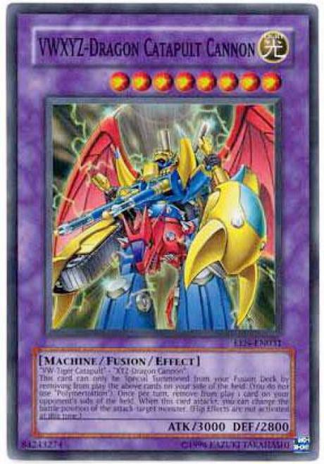 YuGiOh Elemental Energy Super Rare VWXYZ - Dragon Catapult Cannon EEN-EN031