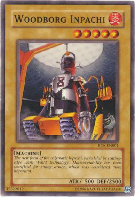YuGiOh Rise of Destiny Common WoodBorg Inpachi RDS-EN001